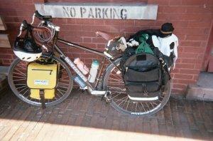 My Kona Sutra touring bicycle.